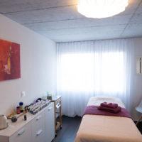 Salle de physiothérapie et de massage